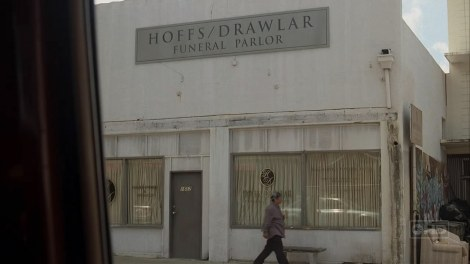 FlashForward ABC Hoffs/Drawlar funeral parlor from LOST